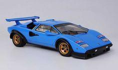 Lamborghini Countach 5000 | Lamborghini Countach 5000 S Walter Wolf blue Kyosho 1/18