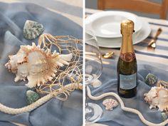 Die Details in der Tischdeko sorgen für eine spannende Atmosphäre Trends, Table Decorations, Home Decor, Nautical Wedding, Homemade Home Decor, Decoration Home, Dinner Table Decorations, Interior Decorating, Center Pieces