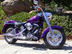 Harley Motorcycles Fatboy - want to learn to ride motorcycles and own one of these :)