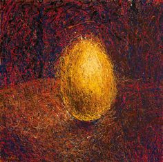 golden egg. artwork by gerasimos galiatsatos