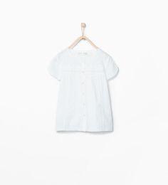 ZARA - NIÑOS - Camiseta bordado
