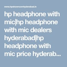 hp headphone with mic Headphone With Mic, Hyderabad, Commercial, India, Showroom, Models, Laptop, Templates, Goa India