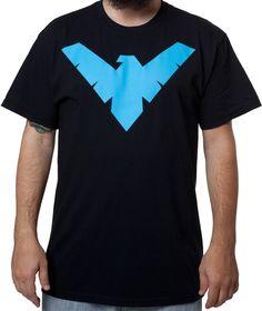 Nightwing Shirt: Super Heroes DC Comics Justice League Batman T-shirt