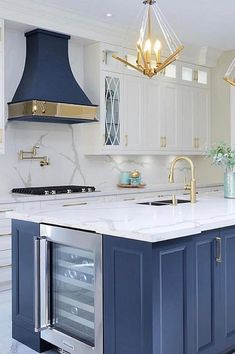 Elevate your kitchen interior design with the best luxury lighting options. Find… Elevate your kitchen interior design with the best luxury lighting options. Find…,Kitchen Lighting Elevate your kitchen interior design with the best luxury. Blue Kitchen Designs, Modern Kitchen Design, Interior Design Kitchen, Home Design, Blue Kitchen Ideas, Design Hotel, Design Design, Home Decor Kitchen, Diy Kitchen