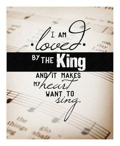 it makes me wanna shout...hallelujah, thank you Jesus...Lord Your worthy of all the glory, all the honor & all the praaaissse