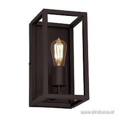 Decolight Wall Scone Vintage Brown Frame for Edison bulbs Wall Lights, Ceiling Lights, Frames On Wall, Candle Sconces, Light Up, Interior Design, Brown, Home Decor, Wall Scone