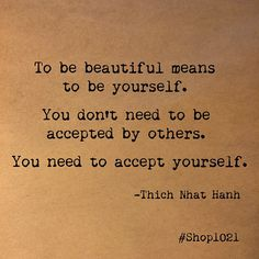 Why are we our own worst critics?  Be yourself. Accept yourself. Love yourself.  #youarebeautiful #beauty  #beyourself #wordstoliveby #Shoplife