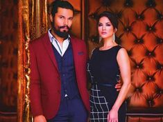 Sunny Leone and Randeep Hooda in Dubai