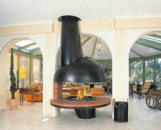 Round Fireplace Hoods   Distinctive Dome Fireplace Design