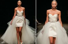 Convertible wedding dress by JLM Couture