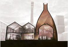 Feilden Clegg Bradley Studios' Middleport Pottery restoration plans