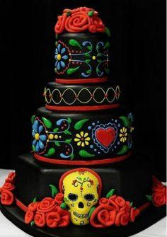 Custom Made Calaca Cake