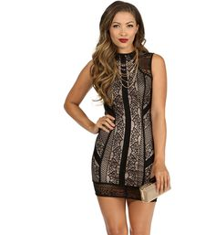 Black Night Out Bodycon Dress