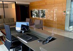 Virus screen at Corporate Reception1