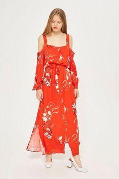 Fashion Feed Kleider, Bekleidung, Maxikleid Mit Blumen, Boho Kleid, Maxi  Kleider, e16c9238af
