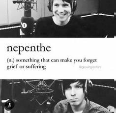 I finally found a word to describe Dan and Phil for me