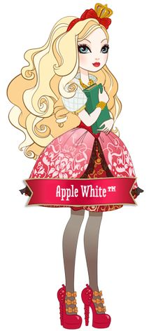 Apple White and Raven ...