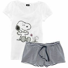 Snoopy pajamas