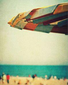 photography, mid-century, beach art