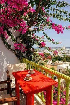 Papadakis Hotel in Naoussa, on the island of Paros in the Cyclades archipelago, on the Aegean Sea, Greece Oh The Places You'll Go, Places To Travel, Beautiful World, Beautiful Places, Simply Beautiful, Paros Greece, Santorini Greece, Athens Greece, Paros Island