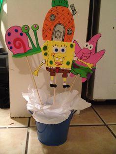 27 best party animal sponge bob images spongebob birthday party rh pinterest com