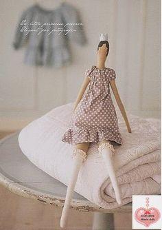 Mimin Dolls: Tilda de meia 3/4