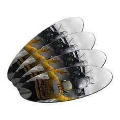 Hornbill Bird DoubleSided Oval Nail File Emery Board Set 4 Pack * For more information, visit image link.