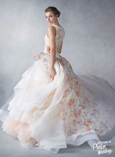 One of our favorite gowns from Lazaro