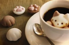 Marshmallow Cat