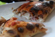 Pizza Fabbrica's Calzone with gorgonzola
