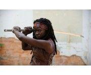 Michonne. The Walking Dead