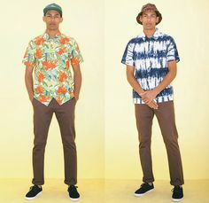 46f7a3920e6 OBEY Clothing 2014 Summer Mens Lookbook Collection