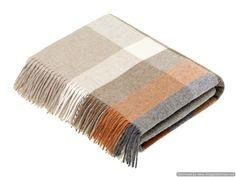 Grey Throw Blanket, Sofa Blanket, Throw Blankets, Tartan, Plaid Laine, Luxury Throws, Textiles, Burnt Orange, Furniture