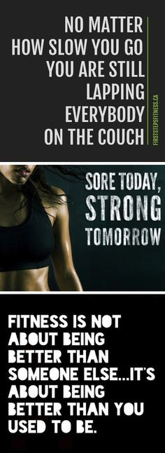 Get your workout started with this inspirational quotes
