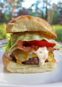 Plain Chicken: Chipotle Ranch Burgers