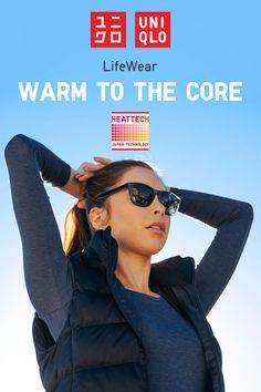 Get warm to the core with HEATTECH from Uniqlo – the technology from Japan that converts moisture released by your body into warmth. Each piece of HEATTECH apparel is made from an innovative knit fabric that traps and retains heat generated from your body. Get better, smarter innerwear today at uniqlo.com.