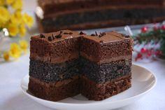 Polish Recipes, Chocolate Cake, Good Food, Food And Drink, Cooking, Sweet, Tarts, Backen, Bolo De Chocolate
