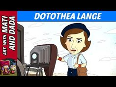 Art with Mati and Dada – Dotothea Lange | Kids Animated Short Stories in English - YouTube