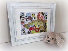 Humpty Dumpty/Whimsical Nursery Wall Folk Art by thecharmingplace, $15.00