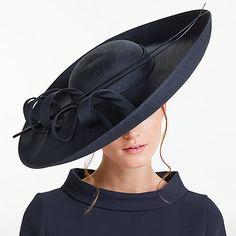 Buy John Lewis Becky Large Shantung Disc Occasion Hat Online at johnlewis.com