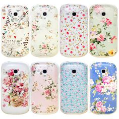 VINTAGE SHABBY CHIC RUSTIC FLORAL PHONE CASE COVER FOR SAMSUNG GALAXY S3 mini