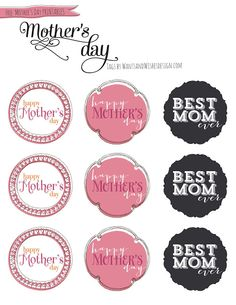 Wants and Wishes: Party planning: Free Mothers Day printables + TREAT