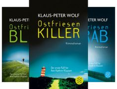 Ostfriesen Serie (Reihe in 13 Bänden) von  Klaus-Peter Wolf Klaus Peter Wolf, Killer Abs, Band, Projects, Sash, Bands, Tape, Conveyor Belt, Fit Abs