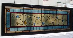 Stained Glass Transom Patterns | Florida Victorian Architectural Antiques | Vintage building & house ...