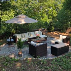 Outdoor Lounge, Outdoor Sectional, Sectional Sofa, Outdoor Decor, Beige Cushions, Printed Cushions, Wicker Furniture, Outdoor Furniture, Garden Sofa Set