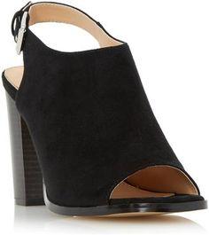 534846b7362ba Head Over Heels Iona peep toe block heel sandals