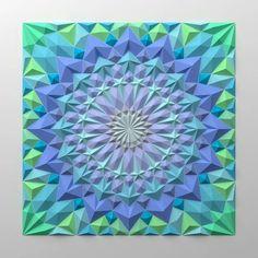 blues and greens - Mosaico