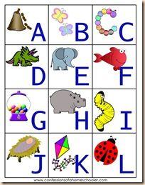 tons of alphabet activities