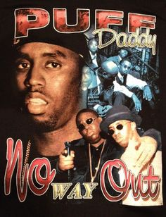 Vintage 90's Rap T-Shirt - PUFF DADDY