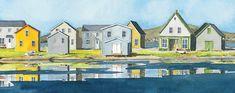 Laminages - La Banquise du Golfe Artisans, Colours, Deco, Islands, Buildings, Painting, Journal, Inspiration, Water